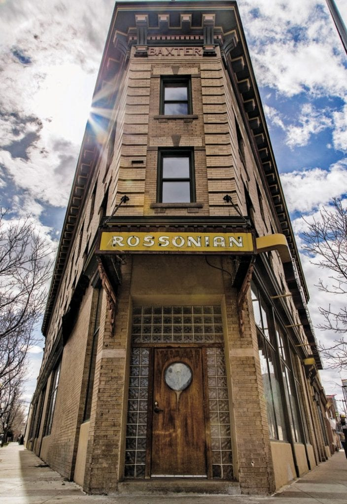 The Rossonian, a former Green Book hotel and nightclub in Denver, Colorado. CANDACY TAYLOR / COURTESY PHOTO
