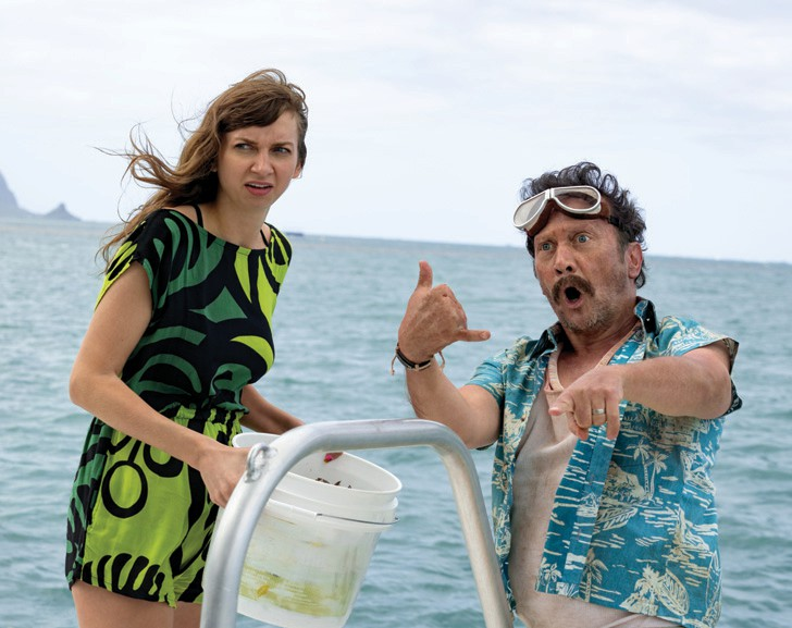 "Lauren Lapkus and Rob Schneider star in the new Netflix comedy ""The Wrong Missy"" streaming May 13. NETFLIX IMAGE"