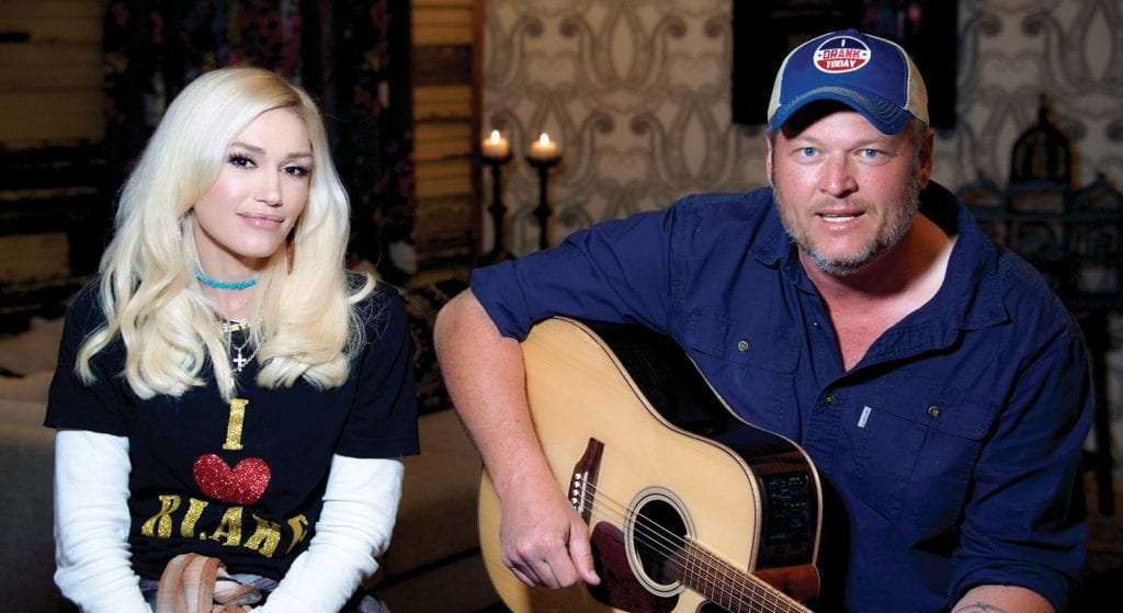 "Tune in May 21 at facebook.com/nbc and catch the ""Red Nose Day Special"" featuring Gwen Stefani and Blake Shelton, above, with many other star performers. NBC UNIVERSAL COURTESY PHOTO"