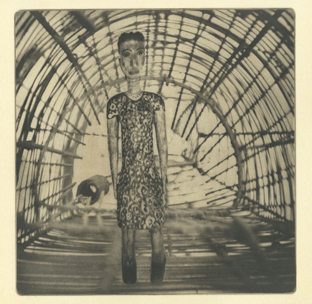 A selection of photogravure works by Carol Munder. COURTESY PHOTOS