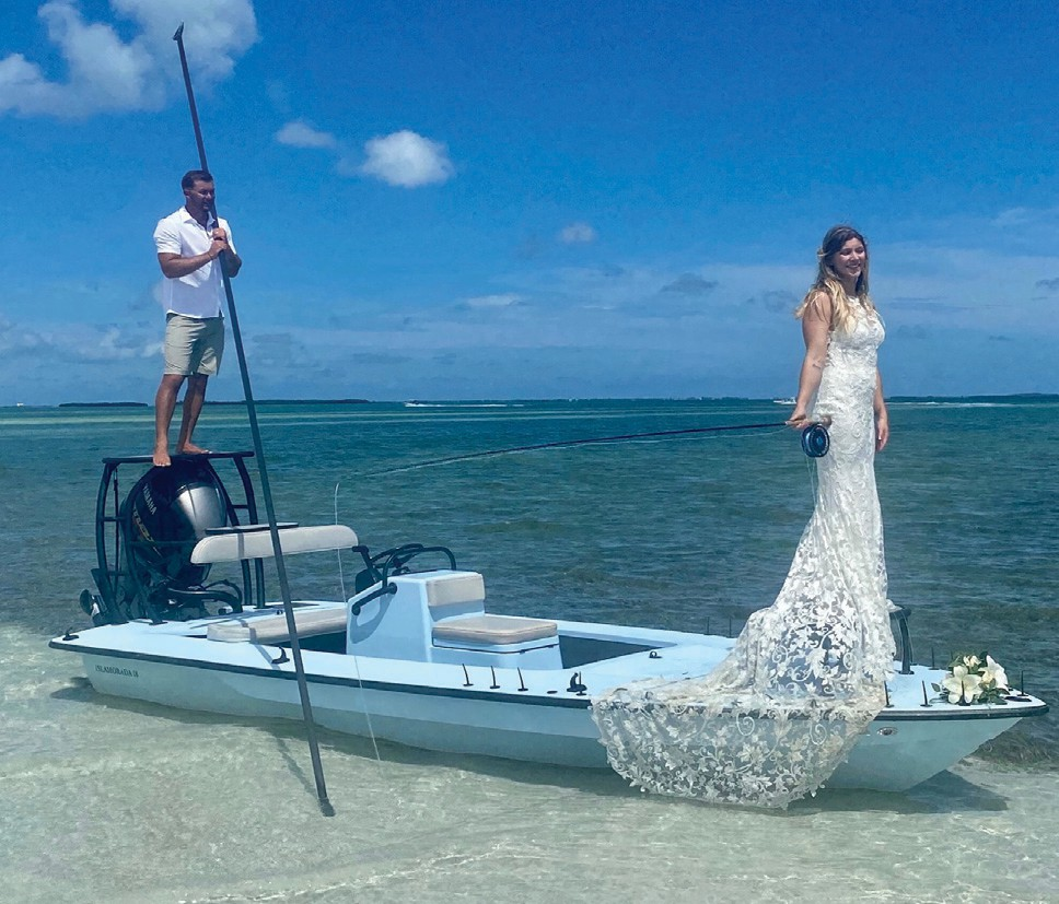 ¦ Lower Keys Guides Association: Fourth LKGA Board Member to get married at Marvin Key. Congratulations to the new Mr. and Mrs. Cyr! -— Lower Keys Guides Association LKGA.org