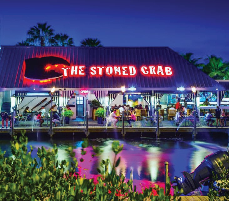 ¦ The Stoned Crab Restaurant: While you are in Key West don't miss the freshest local Key West Lobster, Shrimp, Stone Crab and Fish safely served in a breezy open air waterfront setting. Relax in the safety of the open air. The Stoned Crab. Never ever fresher. — 3101 N. Roosevelt Blvd, Key West 305-433-9431 www.stonedcrab.com
