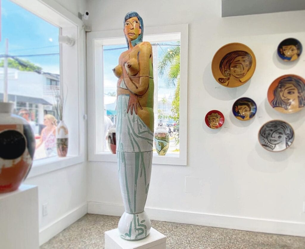 Key West Pottery is a working pottery studio and art gallery dedicated to showcasing the connection between humans and nature. COURTESY PHOTOS