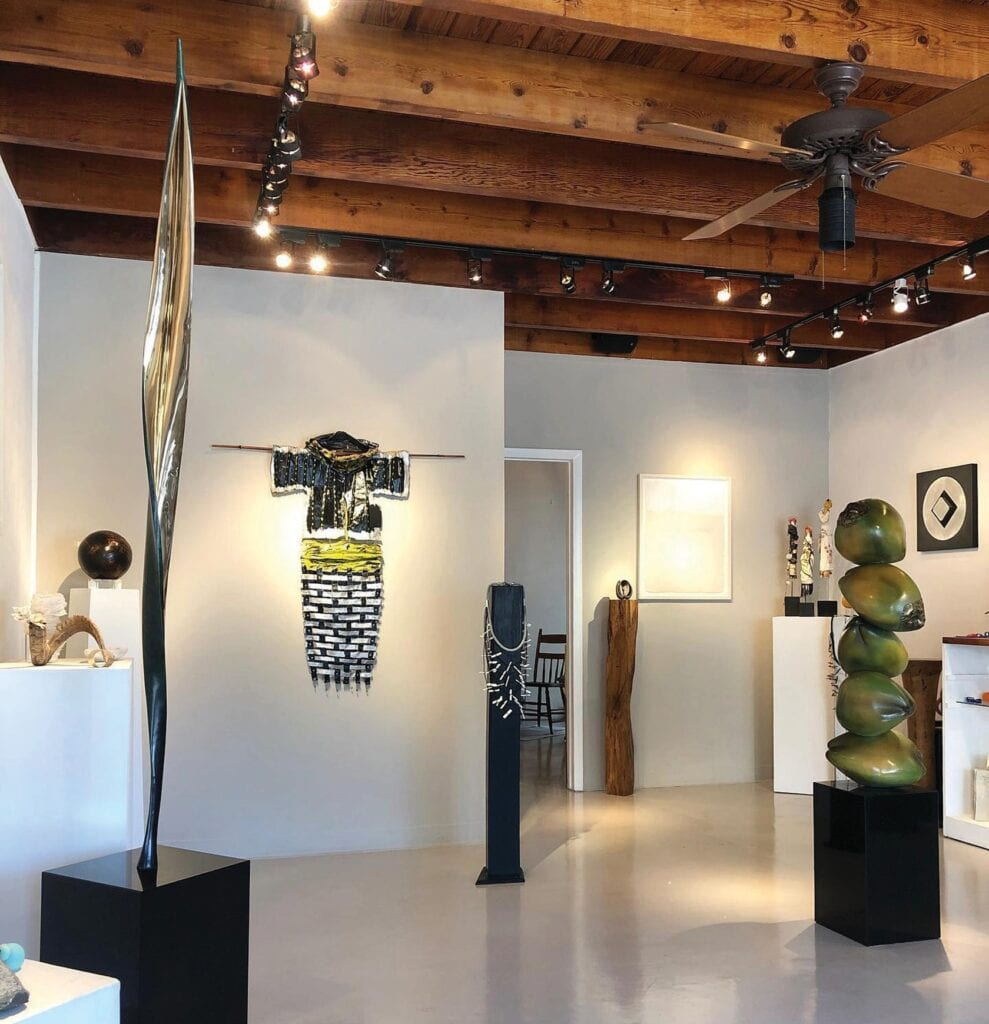 The Harrison Gallery, owned by Helen and Ben Harrison, has been in Key West for 30 years.