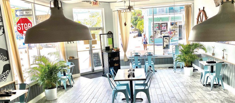 "Thirsty Mermaid is ""the best spot for oysters on the half-shell and champagne on a date night,"" according to restaurateur Kristen Onderdonk. COURTESY PHOTO"