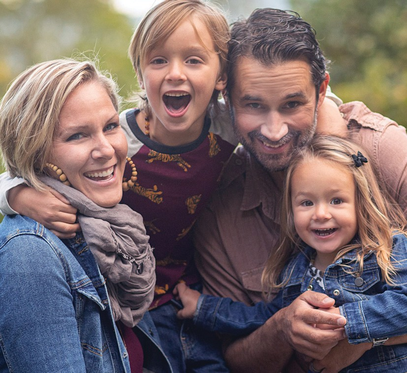 Restaurateurs Kristen Onderdonk and Tommy Quartararo with their son, Truman, and daughter, Teagan. COURTESY PHOTO