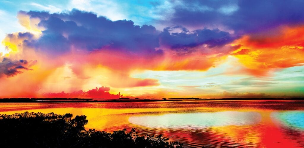 """Color Spectrum,"" by Alan S. Maltz. Mr. Maltz's gallery at 1210 Duval St. showcases his photography, which reflects his passion for Florida's natural beauty. COURTESY PHOTO"