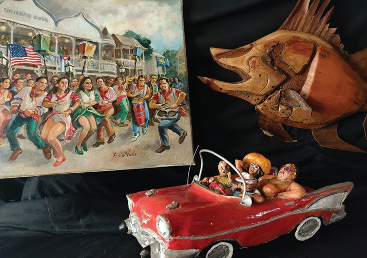 Collections, Key West Gallery offers tropical arts and antiquities on Stock Island. COURTESY PHOTO