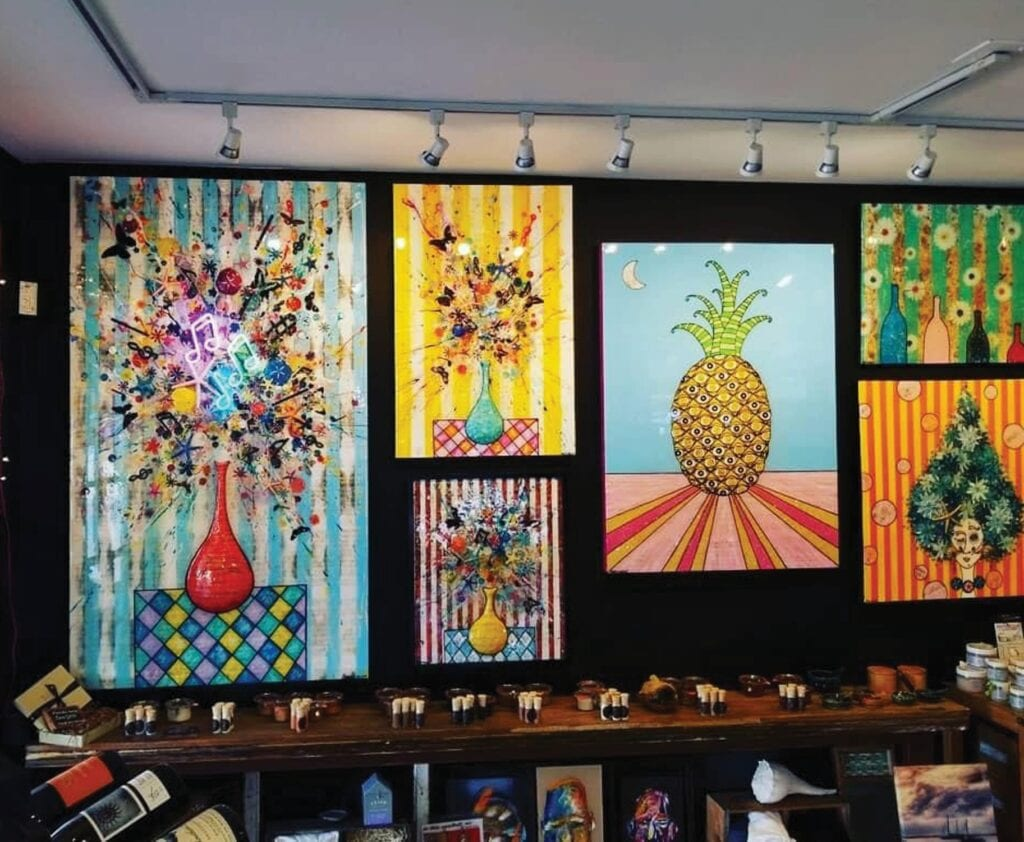 Salt Island Provisions is a boutique-cum-gallery that focuses on local artists and artisans. LAURA RICHARDSON / FLORIDA WEEKLY