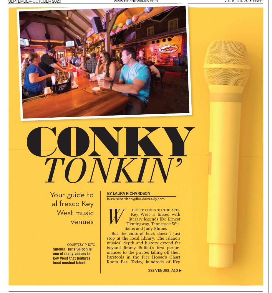 Smokin' Tuna Saloon is one of many venues in Key West that features local musical talent. COURTESY PHOTO