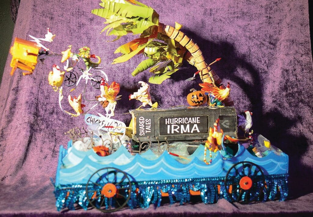 The Sixth Annual Smallest Parade in the Universe, a little indoor parade of small floats that benefits the Monroe Association for ReMARCable citizens, is set for Oct. 24. COURTESY PHOTO