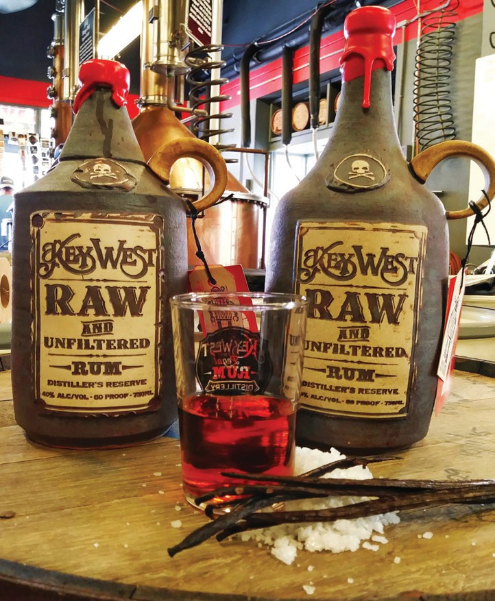 Key West First Legal Rum Distillery would be happy to help you fulfill your gifting checklist in a flash with its chef-distilled rums.