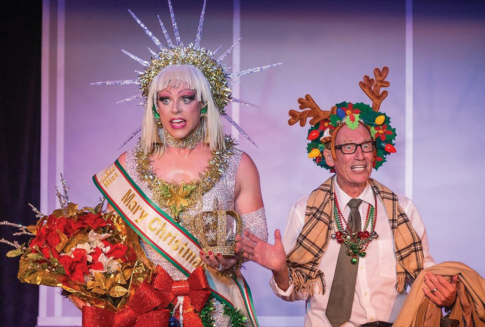 """The Red Barn Theatre will offer a streamed version of the comical """"With Bells On."""" COURTESY PHOTO"""