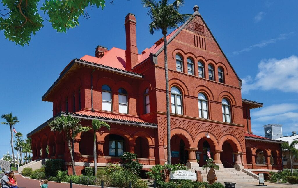 The Custom House Museum, which sits majestically at 281 Front St. The monstrous red brick building was, as you may have guessed, originally built to serve as the U.S. Custom House. COURTESY PHOTO
