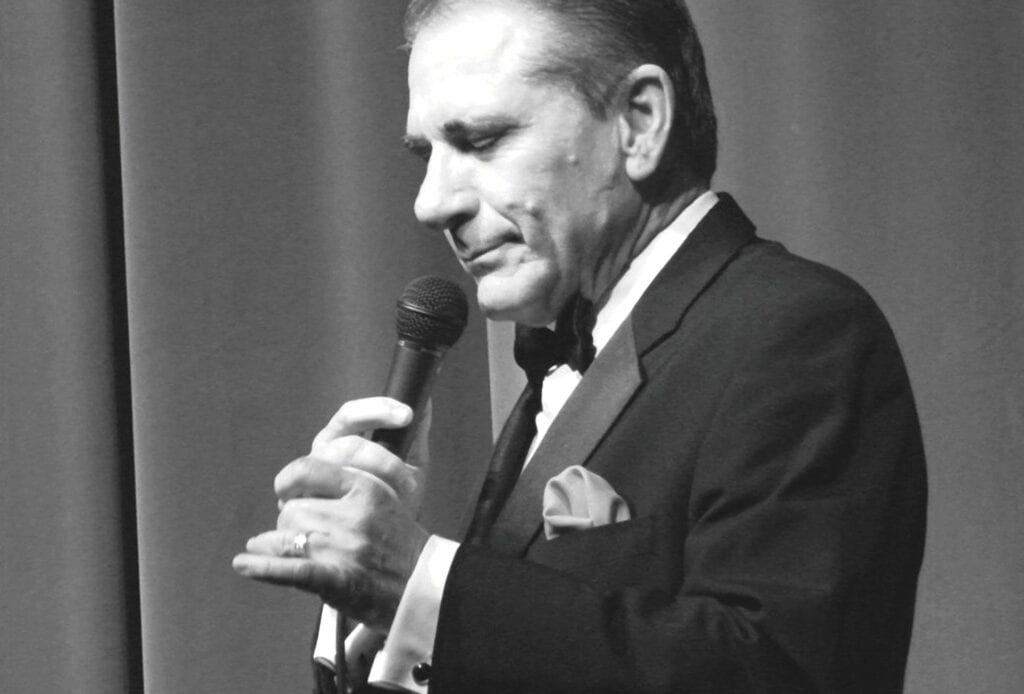 Tony Sands has performed Frank Sinatra tributes for more than 20 years. COURTESY PHOTO