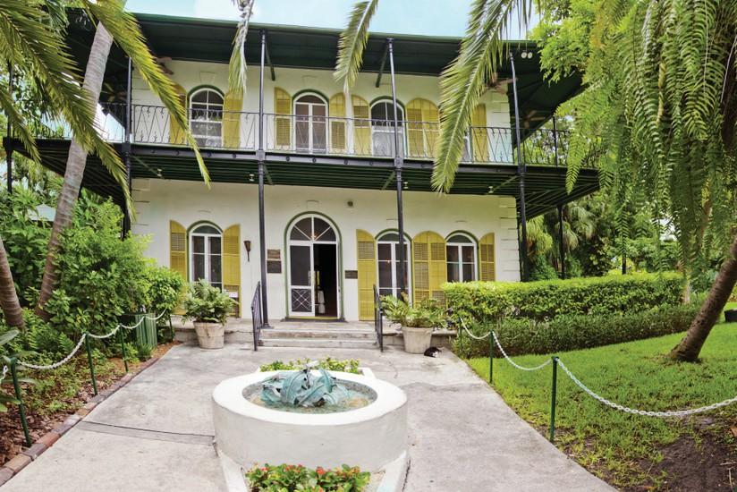 The Ernest Hemingway House.