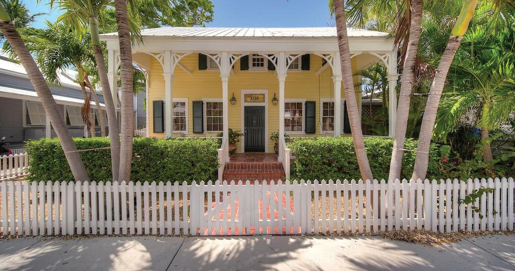 This eyebrow house, at 1121 Southard St., in the heart of Old Town, is listed at $1,295,000. It's two bedrooms and three baths in 1,080 square feet. TRUMAN & CO. REAL ESTATE SERVICES