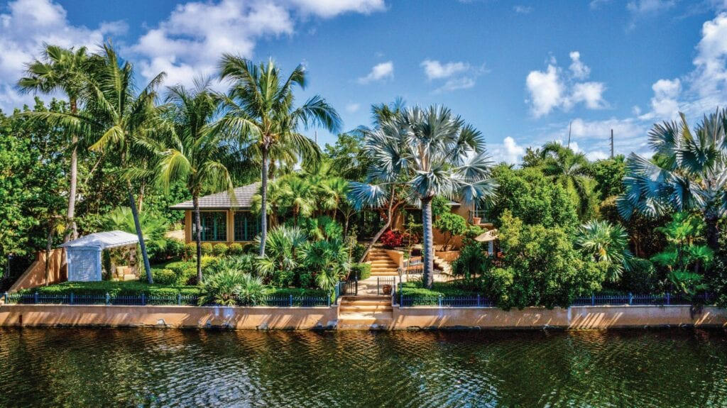 This home, at 3726 Sunrise Lane, is nestled between two canals in one of Key West's most exclusive neighborhoods. The price for the fivebedroom, five-bath home? $3,950,000. TRUMAN & CO. REAL ESTATE SERVICES