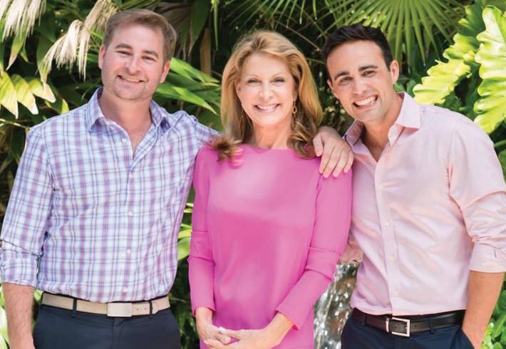 John Spottswood III, Terri Spottswood and Raymond Vazquez of Truman & Company Real Estate Services. COURTESY PHOTO
