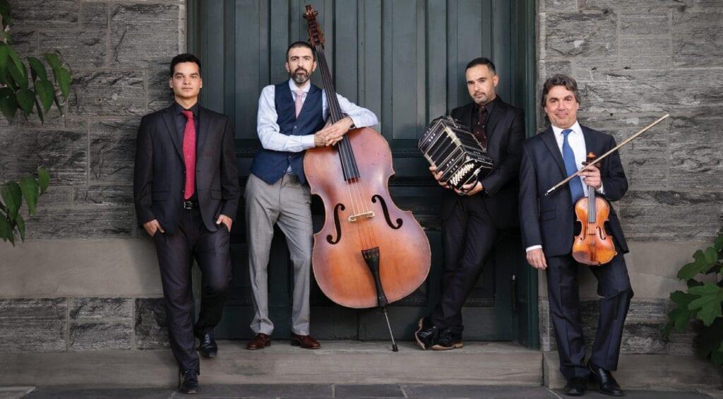 The Pedro Giraudo Tango Quartet will perform al fresco April 2-4 at Viva Argentinian Steakhouse in Key West. PHOTO BY FEDERICO RODRIGUEZ CALDENTEY