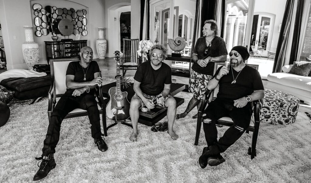 Sammy Hagar and The Circle will appear May 23 at Coffee Butler Amphitheater. This year, they released the album