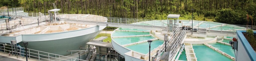 The Cudjoe Regional Wastewater Treatment Plant was completed in 2017, the last of a series of upgrades to Monroe County's wastewater treatment infrastructure. COURTESY PHOTO