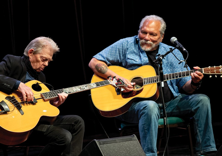 Jack Casady and Jorma Kaukonen of Hot Tuna perform together onstage. Hot Tuna will play June 8 at the Key West Theater. ERIK KABIK PHOTOGRAPHY/MEDIAP