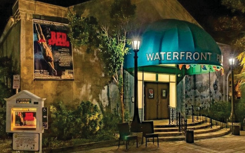 Waterfront Playhouse, on Mallory Square, has been presenting shows for more than 80 years. COURTESY PHOTO