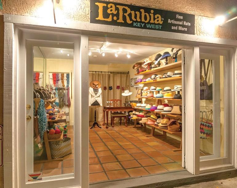 La Rubia Panama Hats is the Florida Keys' only importer of authentic Panama hats. COURTESY PHOTO