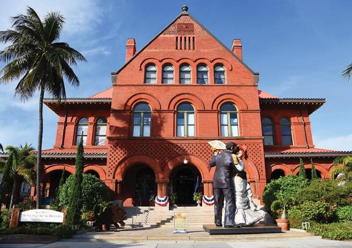The Custom House Museum.