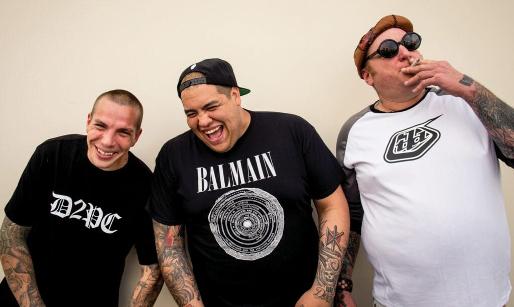 """Sublime With Rome spent a year and a half at work on the band's latest album, """"Blessings."""" PHOTO BY ANDREAS RAMIEREZ"""