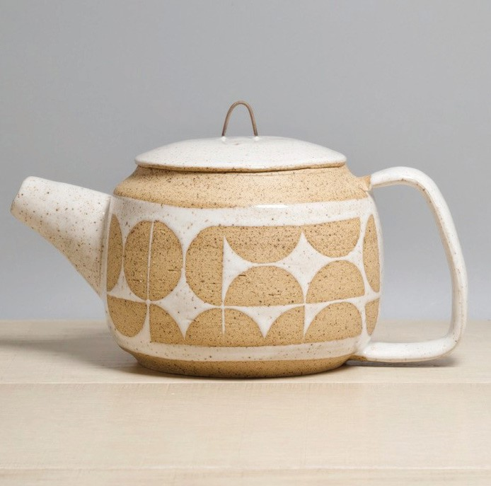 See works like this teapot at Shade Ceramics & Shutter Photography, at 1102 White St. COURTESY PHOTOS